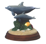 Dolphin Paradise Duo Figurine by Wyland